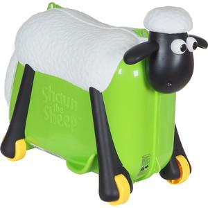 Каталка чемодан SAIPO овечка, зеленый sc0017