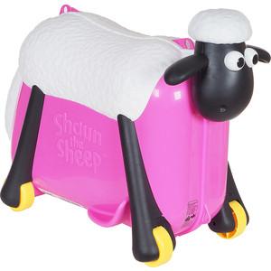Каталка чемодан SAIPO овечка, розовый (фуксия) sc0019