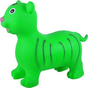 Прыгуны-животные Spring тигренок, pvc, с насосом, 60х30х50см, зелёный 26