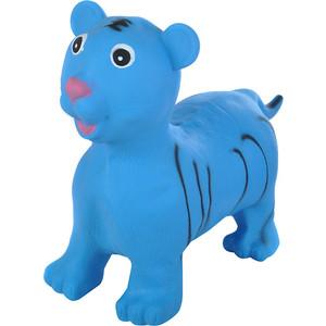 Прыгуны-животные Spring тигренок, pvc, с насосом, 60х30х50см, синий 28
