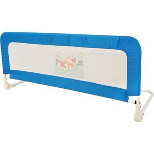 Бортик защитный в кроватку Карапуз синий 105*41*82,5 см 2118
