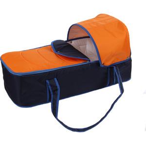 Люлька-переноска для коляски Карапуз сине-оранжевый 0274/4640002290274