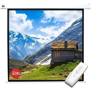Экран для проектора Sakura 220x220 Motoscreen 1:1 123 (SCPSM-220x220)