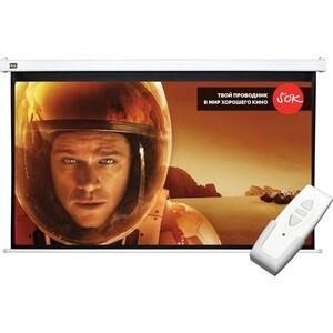 Экран для проектора Sakura 298x168 Motoscreen 16:9 135'' (SCPSM-298x168) цена