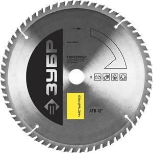 Диск пильный Зубр 255х30 мм Профессионал (36852-255-30-60) диск пильный зубр 190х30 мм 24т 36850 190 30 24