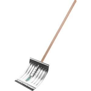 купить Лопата снеговая Сибин с деревянным черенком 430 мм (421857) по цене 573 рублей