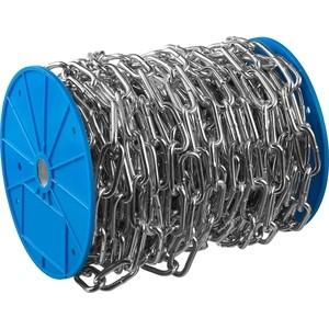 Цепь длиннозвенная Зубр DIN 763 d 4 мм L 70м Профессионал (4-304030-04)