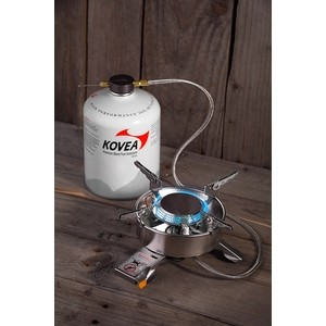 Газовая горелка Kovea TKB-9703-1L с длинным шлангом горелка kovea tkb 9209