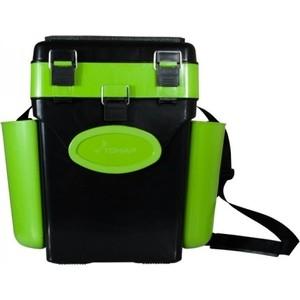 Ящик для зимней рыбалки Helios FishBox двухсекционный 10л зеленый (64060) helios helios hwa 02 02 10