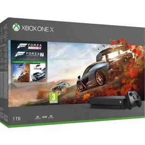 Игровая приставка Microsoft XBox One X 1Tb + игра Forza Horizon 4 + игра Forza Motorsport 7 (CYV-00058 )