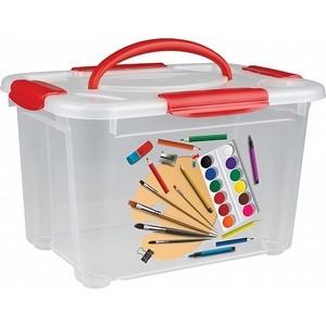 Коробка универсальная Бытпласт коробка с ручкой и декором детское творчество 5,5л (4332026)