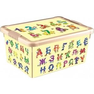 Ящик для игрушек Бытпласт с аппликацией 335х240х155 мм (4313011)