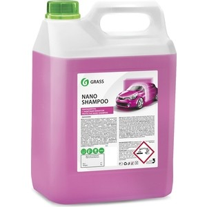 Наношампунь GRASS Nano Shampoo, 5 кг