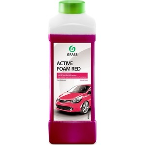 Активная пена GRASS Active Foam Red, красная пена, 1 л