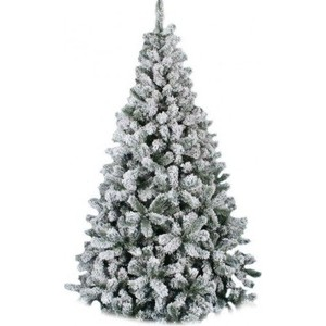 Елка искусственная Royal Christmas Flock Tree Promo заснеженная 164120 (120см) pzcd my 08 usb powered multi color slow twinkle romantic led desktop crystal christmas tree