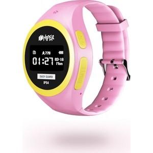 Детские умные часы Hiper EasyGuard Pink