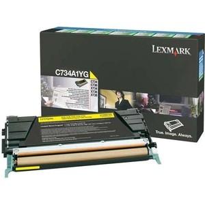 Картридж Lexmark C736 Yellow 10000 стр. (C736H1YG)