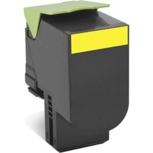Картридж Lexmark 80C8HYE жёлтый 3000 стр.
