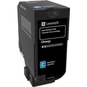 Картридж Lexmark 74C5SCE голубой 7000 стр.