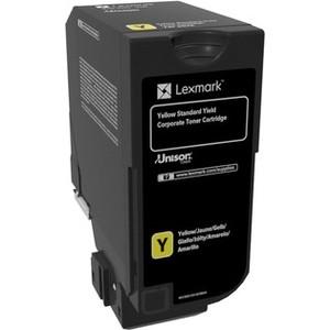 Картридж Lexmark 74C5SYE желтый 7000 стр.