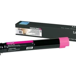 цена на Картридж Lexmark X950X2MG пурпурный