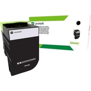 Картридж Lexmark 70C8HKE черный 4000 стр.
