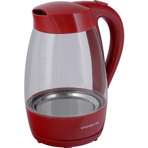 Чайник электрический Polaris PWK 1706CG, красный