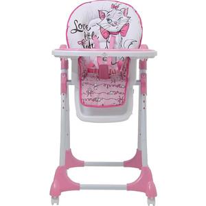 Стульчик для кормления POLINI 470 Кошка Мари (роз) GL000767038 стульчик для кормления polini kids 252 единорог радуга 0001713 03 серый