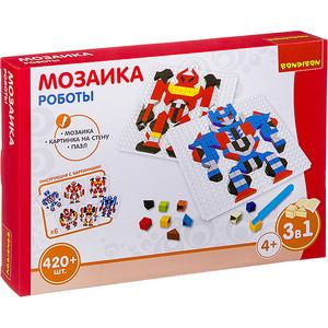 """Мозаика Bondibon """"РОБОТЫ"""", 420 деталей (ВВ3030)"""