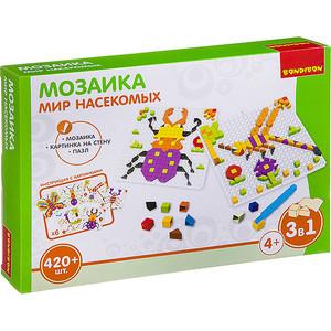 Мозаика Bondibon МИР НАСЕКОМЫХ, 420 деталей (ВВ3031)