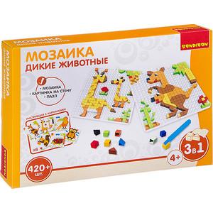 Мозаика Bondibon ДИКИЕ ЖИВОТНЫЕ, 420 деталей (ВВ3032)