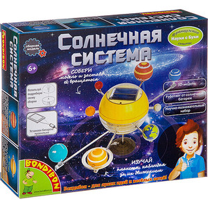 Набор для опытов Bondibon Солнечная система (ВВ3059)
