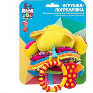 Мягкая погремушка Bondibon гармошка КОТ 14 см (ВВ1301-КОТ) фото