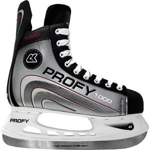 Коньки CK Хоккейные PROFY 1000 красный р.40 bauer коньки хоккейные bauer s17 vapor x700