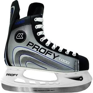Коньки CK Хоккейные PROFY 1000 синий р.30 bauer коньки хоккейные bauer s17 vapor x700