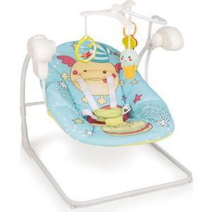цены на Кресло-качели Happy Baby JOLLY V2 BLUE 4690624024214  в интернет-магазинах
