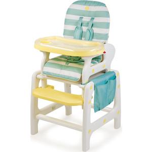 Стульчик для кормления Happy Baby OLIVER AQUA 4690624024764