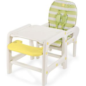 Стульчик для кормления Happy Baby OLIVER LIGHT GREEN 4690624024788