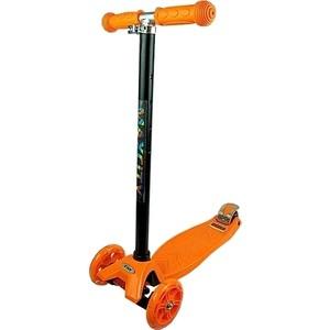 Самокат 3-х колесный MaxCity MC TINY пластик оранжевый viplex viplex самокат 3 х колесный детский оранжевый