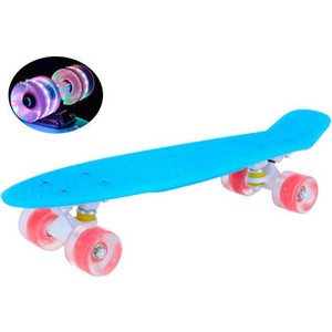 Скейтборд MaxCity MC Plastic Board GLOSS small blue tcdnr6d0231403c20yz 2012 as4450742495a small plates turn joint board