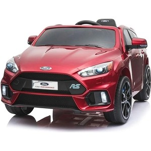 Детский электромобиль Dake Ford Focus RS Wine Red 12V 2.4G - F777-RED yookie yk617 red