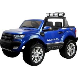 Детский электромобиль Dake Ford Ranger F650 Blue 4WD 2.4G - DK-F650-BLUE детский электромобиль dake ford focus rs wine red 12v 2 4g f777 red