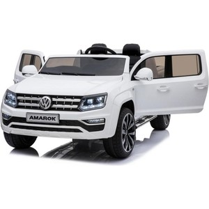 Детский электромобиль Dongma Volkswagen Amarok White 4WD 2.4G - DMD-298
