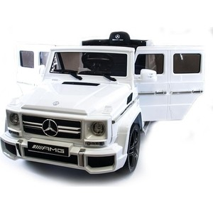 Детский электромобиль Harleybella Mercedes Benz G63 LUXURY 2.4G - White HL168-LUX-W