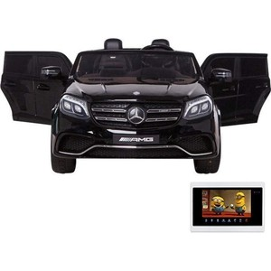 Детский электромобиль Harleybella Mercedes Benz GLS63 LUXURY 4WD 12V MP4 - Black HL228-LUX-MP4