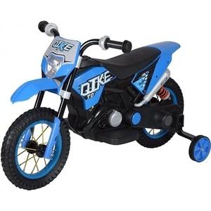 Детский кроссовый электромотоцикл QIKE TD Blue 6V - QK-30.000058-BLUE