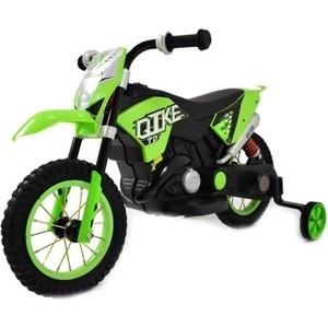 Детский кроссовый электромотоцикл QIKE TD Green 6V - QK-30.000058-GREEN