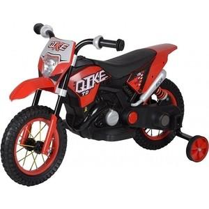 Детский кроссовый электромотоцикл QIKE TD Red 6V - QK-30.000058-RED