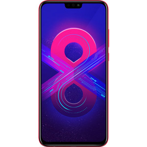 Смартфон Honor 8X 4/64GB Red