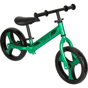 Беговел Corol QUEST GREEN цвет зеленый металлик GL000470872 беговел slider матовый зеленый